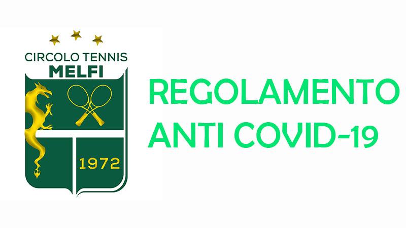 REGOLAMENTO E SUGGERIMENTI ANTI COVID-19 PER RIPRESA DELL'ATTIVITÀ